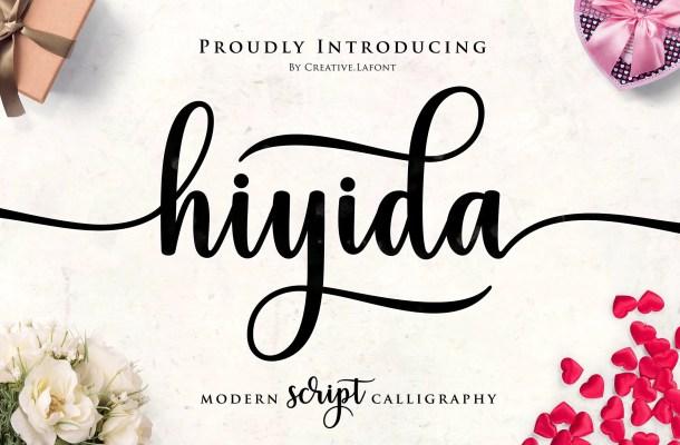 Hiyida Script Font Free