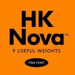 HK Nova Typeface Free