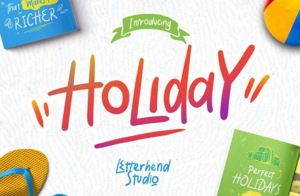 Holiday Script Font Free