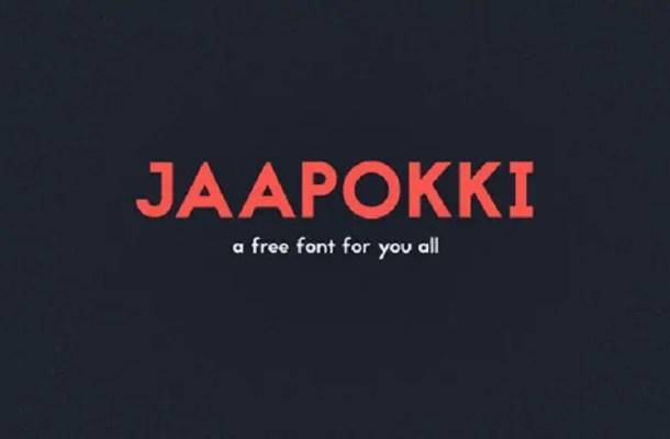 Jaapokki Typeface Free