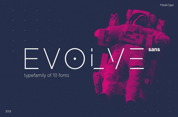 MADE Evolve Sans Font Family Free