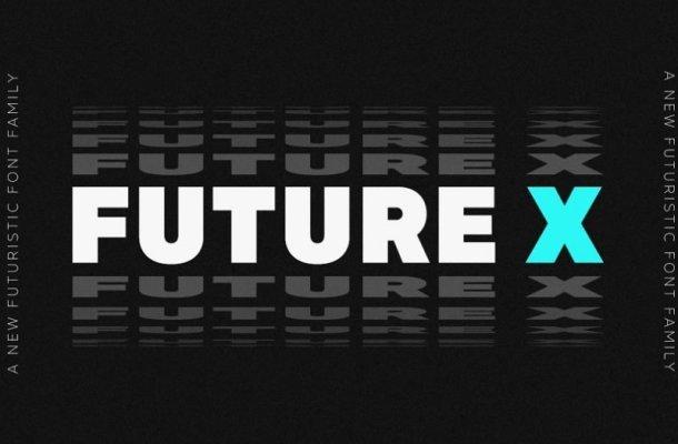 MADE Future X Font Family Free