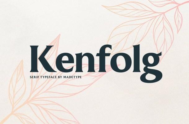 MADE Kenfolg Serif Font Free