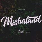 Mishaland Typeface Free