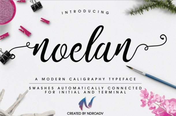 Noelan Script Font Free