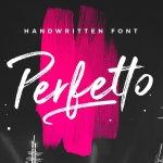 Perfetto Brush Font Free