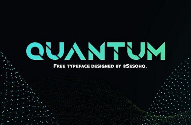 Quantum Typeface Free