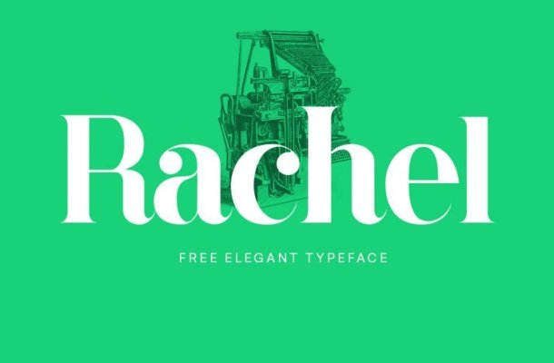 Rachel Typeface Free