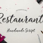 Restaurants Script Font Free