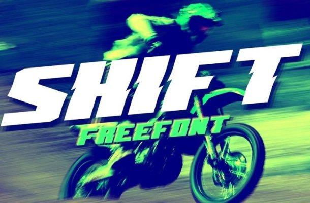 Shift Font Free