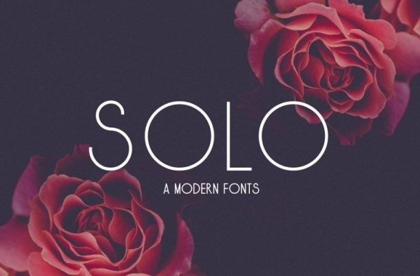 Solo Typeface Free