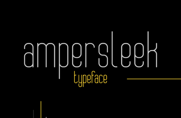 AmperSleek Typeface Free