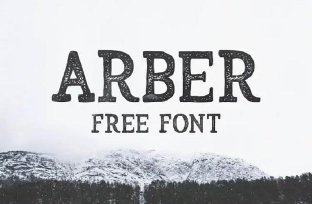 Arber Vintage Font Free