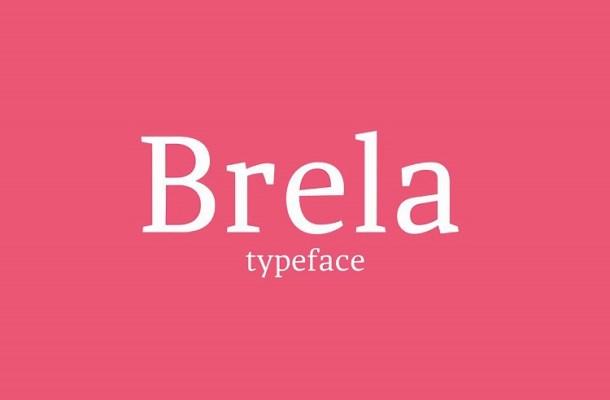 Brela Typeface Free