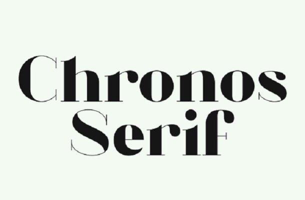 Chronos Serif Typeface Free
