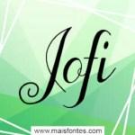 Jofi Script Font Free