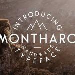 Montharo Font Family Free