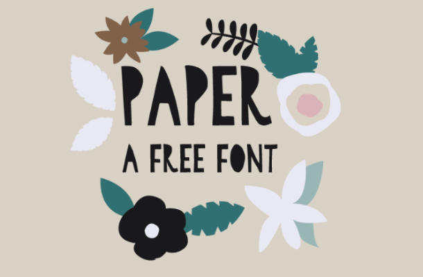 Paper Font Free