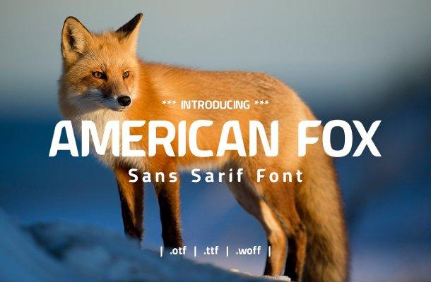 American Fox Font Free