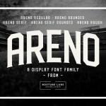 Areno Font Family Free