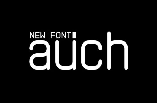 Auch Free Font Free