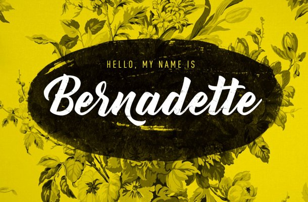 Bernadette Script Font Free