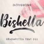 Bishella Brush Font Free