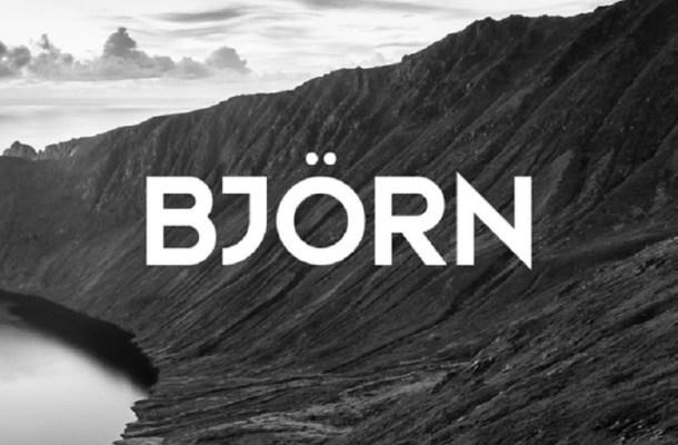 Bjorn Typeface Free