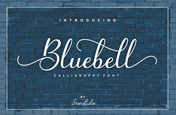 Bluebell Script Font Free