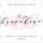 Brainlove Script Font Free