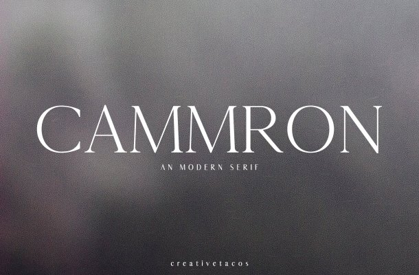 Cammron Font Family Free