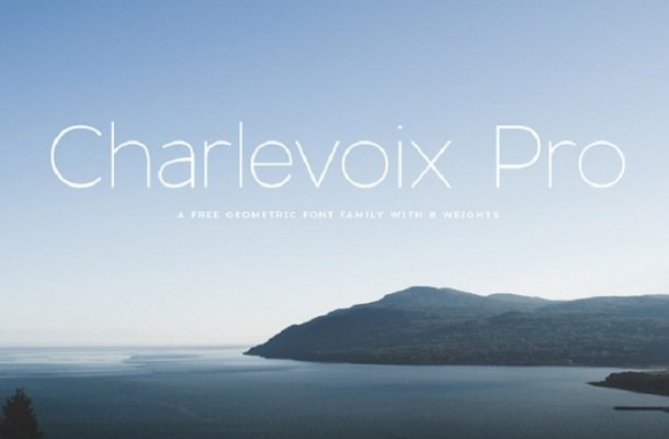 Charlevoix Pro Font Family Free