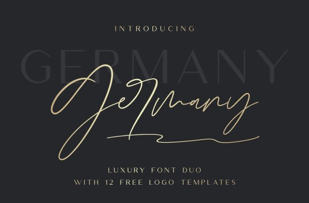 Germany Font Duo Free