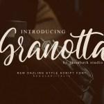 Granotta Script Font Free