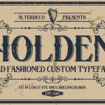 Holden Typeface Free