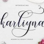 Karliyna Script Font Free