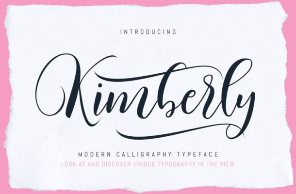 Kimberly Script Font Free