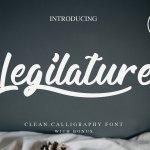 Legilature Script Font Free