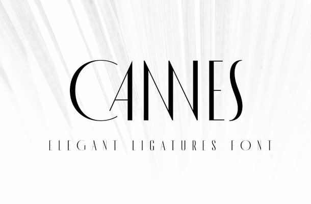 MADE Cannes Typeface Free