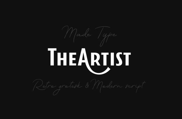 TheArtist Duo Fonts Free