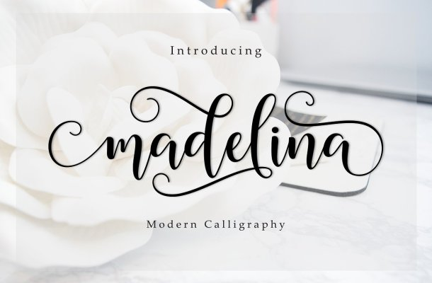 Madelina Script Font Free
