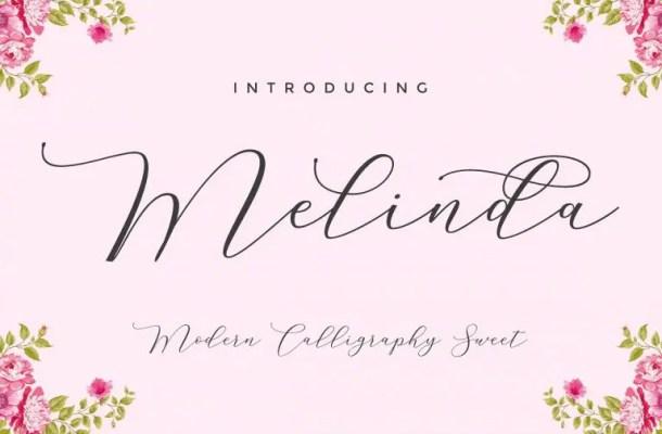 Melinda Script Font Free