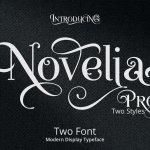 Novelia Pro Typeface Free