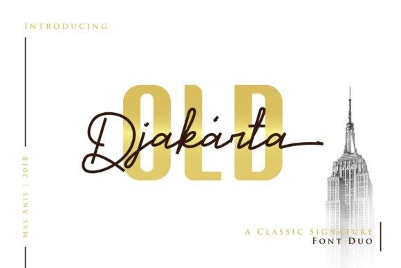 Old Djakarta Font Duo Free