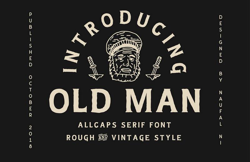 old-man-vintage-font