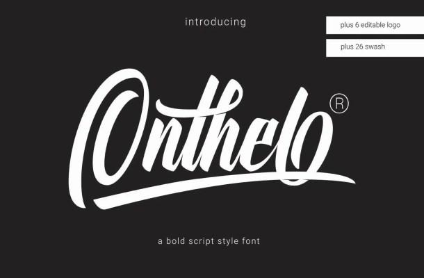 Onthel Script Font Free