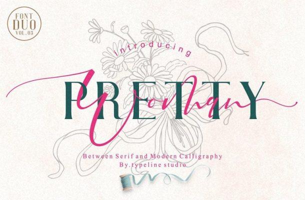 Pretty Woman Font Duo Free