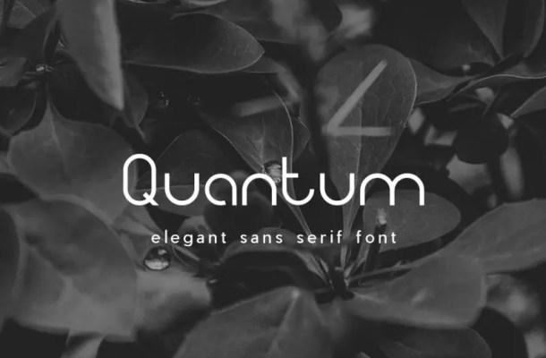 Quantum Sans Serif Font Free