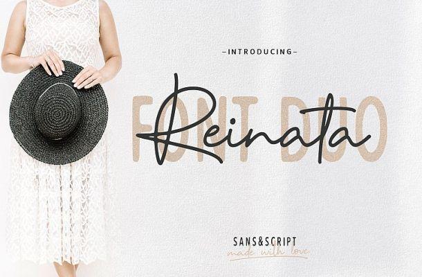 Reinata Script Font Free