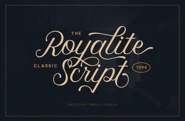 Royalite Script Font Free